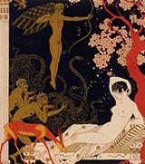 La Belle Helene 1922 By George Barbier
