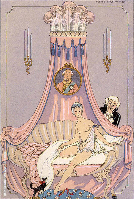 The Times of the Day 1925 By George Barbier