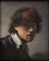 Self Portrait 1629 By Rembrandt Van Rijn