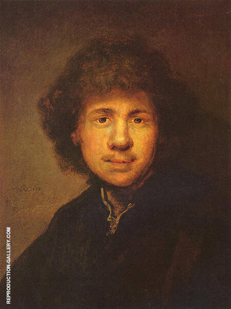 Self Portrait c1630-1699 By Rembrandt Van Rijn
