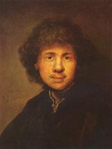 Self Portrait c1630-1699 By Rembrandt Van Rijn