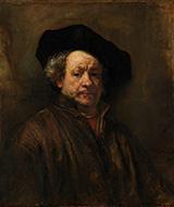 Self Portrait 1660 By Rembrandt Van Rijn