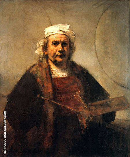 Self Portrait c1665 By Rembrandt Van Rijn