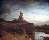The Mill c1645-48 By Rembrandt Van Rijn