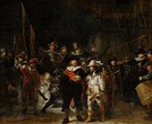 The Night Watch 1642 By Rembrandt Van Rijn