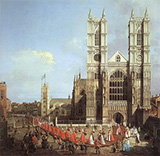 Westminster Abbey 1749 By Canaletto