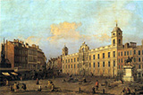 Northumberland House 1752 By Canaletto