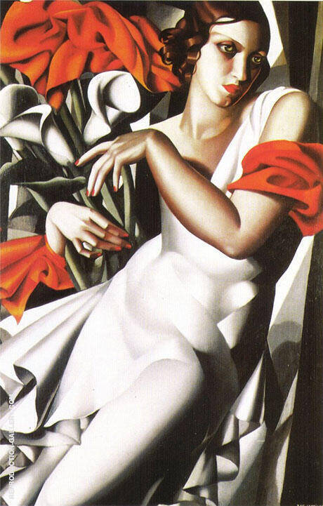 Portrait of Ira P 1930 By Tamara de Lempicka