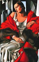 Portrait of Madame Boucard 1931 By Tamara de Lempicka