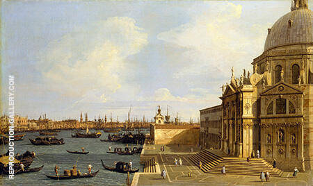 Venice Santa Maria della Salute c1740 By Canaletto - Oil Paintings & Art Reproductions - Reproduction Gallery