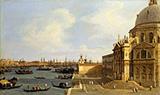 Venice Santa Maria della Salute c1740 By Canaletto