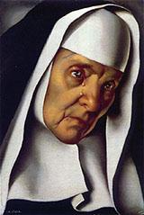Mother Superior 1935 By Tamara de Lempicka