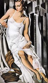 Portrait of Mrs Alan Bott 1930 By Tamara de Lempicka
