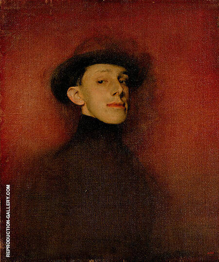 Study from Life for the Portrait of King Alfons XIII By Ramon Casas - Oil Paintings & Art Reproductions - Reproduction Gallery