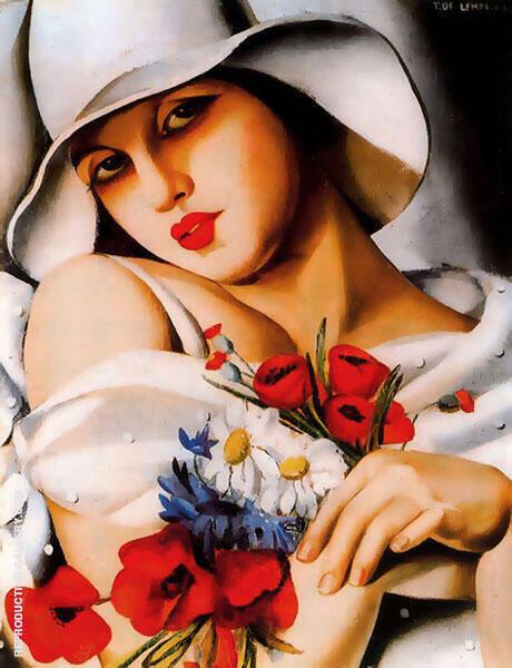 Femme Colombe By Tamara de Lempicka