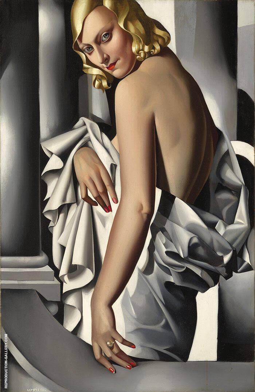 Portrait of Marjorie Ferry 1932 Painting By Tamara de Lempicka