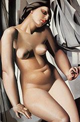 Nude with Sails By Tamara de Lempicka