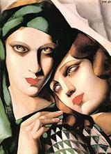 Green Turban 1930 By Tamara de Lempicka