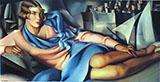 Portrait of Arlette Boucard 1928 By Tamara de Lempicka