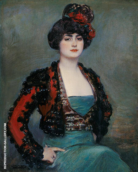 Julia c1915 By Ramon Casas