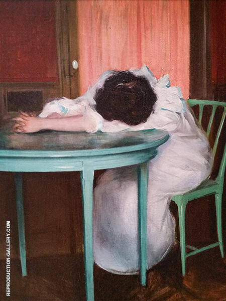 Tired c1895-1900 By Ramon Casas