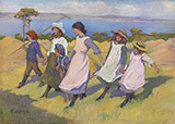 Here we are Gathering Nuts in May By Elizabeth Forbes