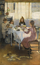 A Game of Old Maid By Elizabeth Forbes