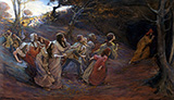 The Pied Piper of Hamelin c1900 By Elizabeth Forbes