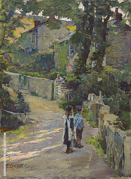Off to School By Elizabeth Forbes