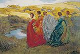 On a Fine Day 1903 By Elizabeth Forbes