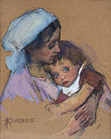 Mother and Child By Elizabeth Forbes