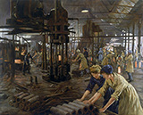 The Munitions Girls 1918 By Stanhope Forbes