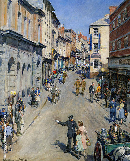 Causewayhead Penzance 1943 By Stanhope Forbes