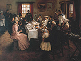 The Health of the Bride 1889 By Stanhope Forbes