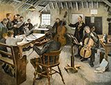 Music of the Modern World 1895 By Stanhope Forbes