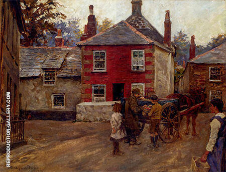 The Fruit Seller 1920 By Stanhope Forbes