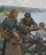 Gossips 1907 By Stanhope Forbes