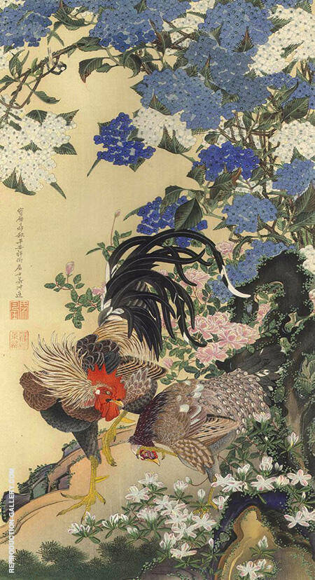 Masterpieces By Ito Jakuchu