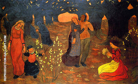 The Ages of Life c1894 By Georges Lacombe - Oil Paintings & Art Reproductions - Reproduction Gallery