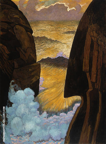 Vorhor the Green Wave c1896 By Georges Lacombe