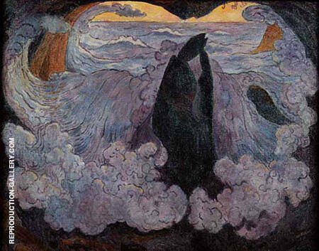 The Violet Wave c1896 By Georges Lacombe