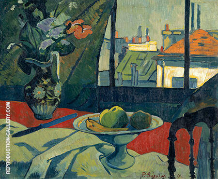 Still Life the Artist's Studio Painting By Paul Serusier