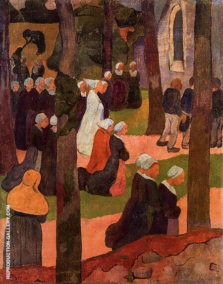A Breton Sunday Painting By Paul Serusier - Reproduction Gallery