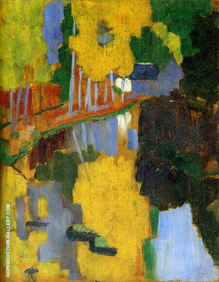 The Talisman c1888 By Paul Serusier