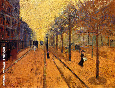 Avenue de Neuilly By Paul Serusier - Oil Paintings & Art Reproductions - Reproduction Gallery