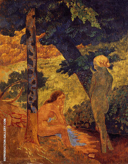 Bathers By Paul Serusier - Oil Paintings & Art Reproductions - Reproduction Gallery