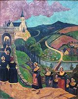 The Pardon of Notre Dame Des Portes at Chateauneuf Du Faou 1894 By Paul Serusier