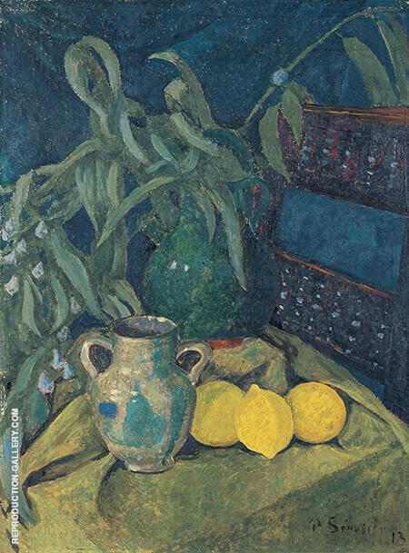 Synchrony in Green 1913 By Paul Serusier