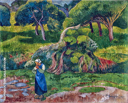 Pouldu 1890 Painting By Paul Serusier - Reproduction Gallery