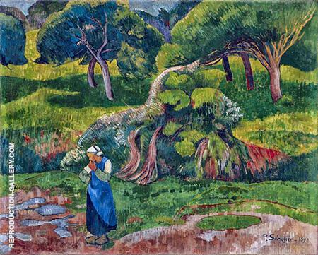 Pouldu 1890 By Paul Serusier
